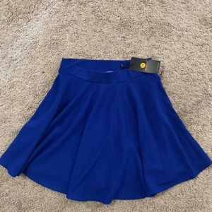 Moxeay amazon royal blue flowy skirt